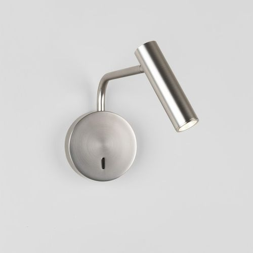 astro Leselampe Enna Wall Switched Nickel Matt